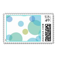 Pretty Polka Dots Postage