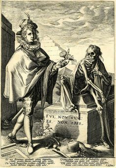 death and young man