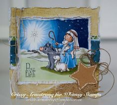 Star of Bethlehem - Digital Stamp