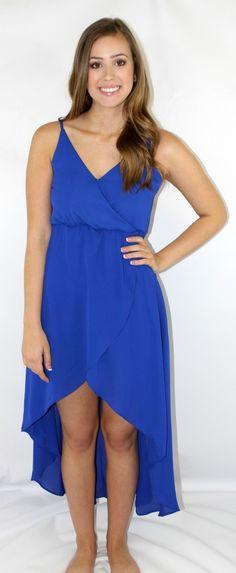 Kiki La'Rue - Cassie Hi-Low Dress- Royal Blue, $52.00 (http://www.kikilarue.com/cassie-hi-low-dress-royal-blue/)
