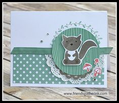 Foxy Friends stamp set by Stampin' Up!