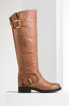 Buckle up! Knee-high riding boots from Steve Madden.