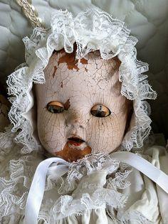 Doll in bonnet