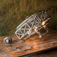(1) Lance 6 Light Chandelier Industrial Chandelier, Metal Chandelier, Industrial Metal, Chandelier Lighting, Lantern Pendant, Farmhouse Lighting, Rustic Farmhouse, Candelabra Bulbs, Modern Lighting