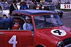 Christabel Carlisle - 1963 Silverstone -British Grand Prix - International Production Touring Car Race