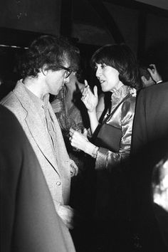 Nora Ephron and Woody Allen in 1978. Photo By Tony Palmieri