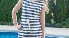 Easy Summer Dress by Polka Dot Chair for (30) Days of Sundresses - Melly Sews