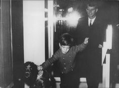 531-John Kennedy Jr. with his Uncle Bobby Kennedy