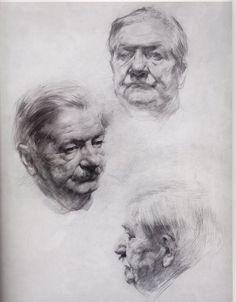 beautiful portrait sketches