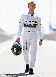 Nico Rosberg ahead of the 2014 Formula One season
