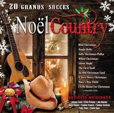 Noël Country - Artistes variés - Nombre de titres : 20 titres -  Référence : 28523 #CD #Musique #Cadeau