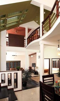 Modern kerala houses interior kerala house interior design for The space scape architects thrissur kerala