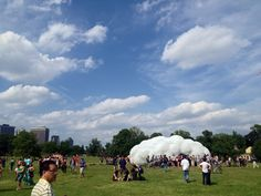 STUDIOKCA's 'Head in the Clouds' Pavilion Opens in NYC