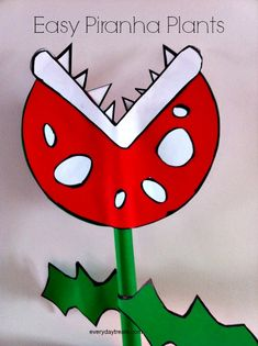 Everyday Treats - Blog - Easy Piranha Plants
