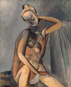Nude 1909    Pablo Picasso
