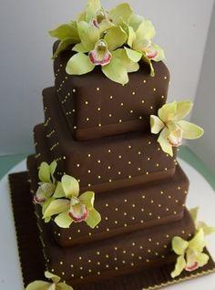 cake orchid / torta de orquídeas