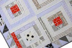 Red Pepper Quilts: Headliner Text Quilt