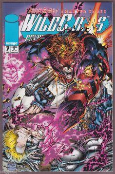 1994 Image WILDC.A.T.S #7 Comic Book JIM LEE Art FIRST PRINTING Killer Instinct
