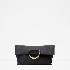 Image 1 of SOFT TOTE WITH METAL HANDLES from Zara