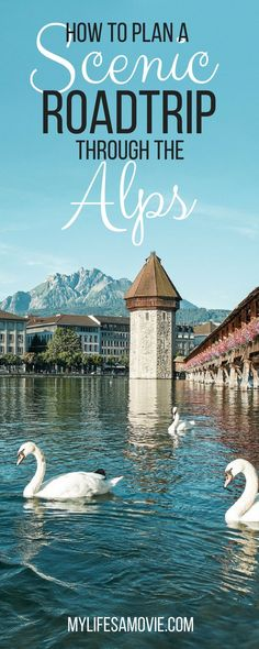 This easy, awesome Alps Roadtrip itinerary will take you through some of the most photogenic parts of Germany, Austria, and Switzerland's Alpine regions!