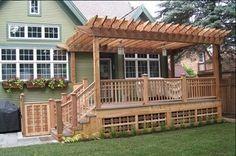 Pdf Plans Pergola Over Deck Plans Download Wood Stain Pen สวน