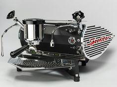 Speedster espresso machine - black powder coated