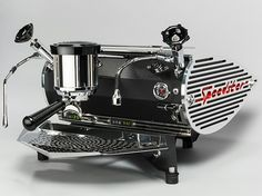 Speedster espresso machine - black powder coated