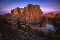 Smith Rock, Smith Rock state park, central Oregon