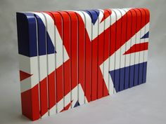 Painted radiator cover: classic by cool radiators? it's covered! My Furniture, Bespoke Furniture, Painted Radiator, Designer Radiator, Living In England, Union Flags, Cnc Wood, Radiator Cover, Flag Design