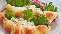 Tonnikalatahnalla täytetyt croissantit - Yhteishyvä