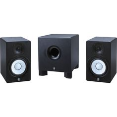 YamahaHS-50M/HS-10W 2.1 Powered Monitor Package
