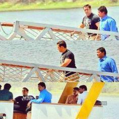 Salman Khan's boat ride in Udaipur