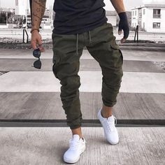 Од Sneakerjeans Powered by Featuring Cargo Jogger Pants (Product Code Search available Online Deutsch Beauties in Memories S. Mens Jogger Pants, Men Joggers Outfit, Jogger Pants Style, Mode Man, Pantalon Cargo, Streetwear Shop, Mens Clothing Styles, Trendy Clothing, Street Wear