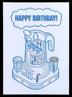 Rootstock - Birthday card by Fanakalo