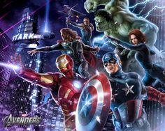 Frame Zone Avengers Still Standing - avengers, still, art, frame, zone, standing, checking, marvel