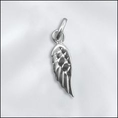 new selection of sterling silver wing charms available @ www.wholesalejewelrysupply.com