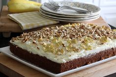 ~ summer squash cake ~ just learned that the raw squash can be grated, measured out, and frozen for future recipes ~