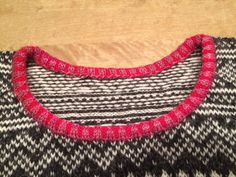 How to make a nice edging. Setesdal love designed by Nina Granlund Sæther.