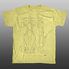 Benetton B194 - Formula 1 - Racing Line Mens T-shirt | Unlap | Formula 1 Merchandise, F1 Gifts, BTCC Merchandise, Racing Car T-shirts, Formula 1 T-shirts