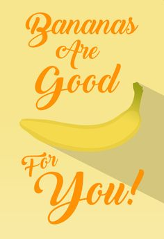 Bananas Are Good For You.  some flat art i've made by myself (jelle koiter) in Photoshop. #faltart