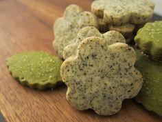 Earl Grey and Matcha Green Tea Shortbread by Lou & Esi, via Flickr