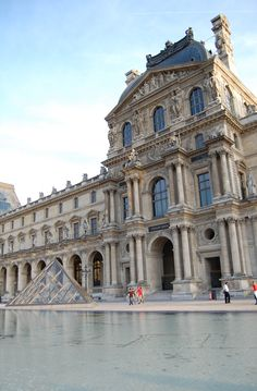 Paris - Louvre Museum: The Louvre or Louvre Museum is one of the worlds largest museums and a historic monument.