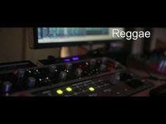 Reggae Audio Sample. Red Mastering Studio