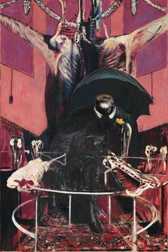Painting, 1964, Francis Bacon.