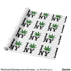 Weed Leaf Christmas new york xmas hanukkah party