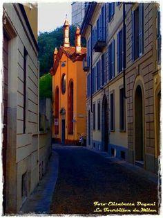 La  chiesa più corta di Milano... A due passi da via Dante