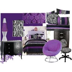 Purple + Zebra= Heaven
