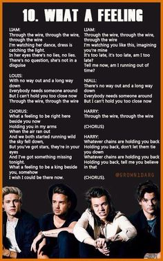 What A Feeling // One Direction Lyrics #MadeInTheAM | Probably one of my favorite songs on the album <3