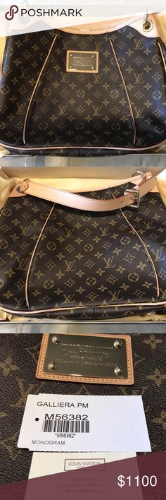 Louis Vuitton Galleria PM + MATCHING WALLET All of my items are 100% authentic! 💋If you have any questions regarding anything please text me for a fast response.💋Prices are negotiable.        ➡️(646) 849-0276⬅️ 🔴TEXT FOR A FASTER RESPONSE🔴 Louis Vuitton Bags Shoulder Bags