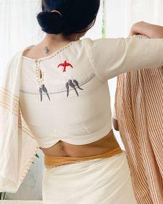 Kurta Designs, Saree Jacket Designs, Cotton Saree Blouse Designs, Blouse Back Neck Designs, Fancy Blouse Designs, Fashion Weeks, Saris, Lehenga, Sari Bluse